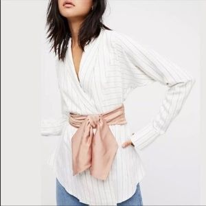 Free People x NFC S/M Bow Sash Belt